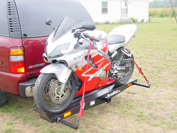 Trailer Hitch Motorcycle Carrier >> Hitchmount Motorcycle Carrier