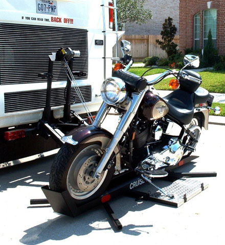 Rv Motorhome Motorcycle Lifts