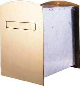 Mailboxes Double Sided Recessed