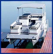 Canopies and electric motors for boat lifts for Electric boat lift motor