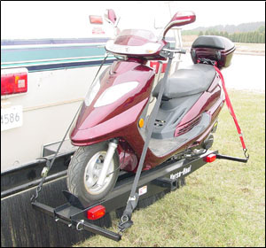 Single Motorcycle Carrier With Ramp Motorcycle Review